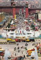 España--Barcelona--1955--Fuente Monumental-Feria De Muestras Y Plaza De España-Plaza De Toros--a, St.Mascine, Francia - Exposiciones