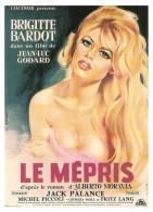 Brigitte BARDOT...LE MEPRIS..Jean Luc GODARD........1CP..10.5 X 15 NEUVE... - Posters On Cards