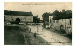 CPA   88  : GIRECOURT  Sur DURBION La Croisée Animée  1911    A   VOIR  !!! - Andere Gemeenten