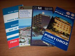 Old Travel Guides - Slovenia, Portorož - Tourism Brochures