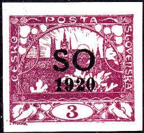 East Silesia S.O 1920 Sc 2 Mint Hinged - Cecoslovacchia