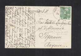 Böhmen AK Dianaberg Piraumberg 1908 Bahnstempel Haid - Briefe U. Dokumente