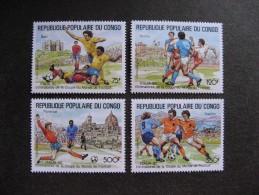 Congo:  TB Série PA N° 389 Au N°392 , Neufs XX. - Congo - Brazzaville