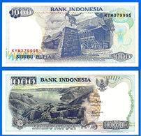Indonesie 1000 Rupiah 1992 NEUF UNC Que Prix + Port Riviere River Indonesia Skrill Paypal Bitcoin OK - Indonesia