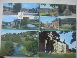 Lot De 4 Cartes De GRAND - HALLEUX ( VIELSALM ) (2x Multivues / Panorama / Résidence D'Ardenne - Vielsalm