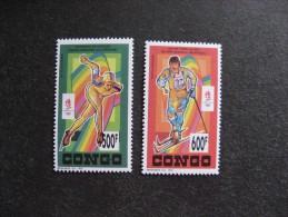 Congo: TB Paire PA N° 413 Et N°414, Neufs XX. - Congo - Brazzaville