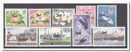 Cook Islands 1966, Postfris MNH, Flowers, Food, Plane, Airmail - Cookeilanden