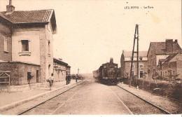( Pers.6 -  16-17 - ) Les Avins - La Gare