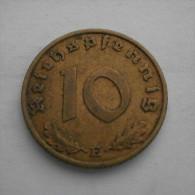 Allemagne 10 Pfennig 1937  E  Deutschland  Germany