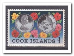 Cook Islands 1979, Postfris MNH, Flowers, Coins - Cookeilanden
