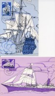 4 Maximumkaarten NVPH Nr. 1026 T/m 1029 (1973, Zomerzegels) - Maximumkaarten