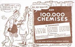 BUVARD :  AUX 100.000 CHEMISES - Textile & Vestimentaire
