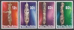 PAPUA NEW GUINEA, 1985 ARTIFACTS 4 MNH - Papua New Guinea