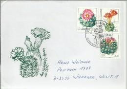 ALEMANIA DDR CC BERLIN CACTUS FLORA - Cactus