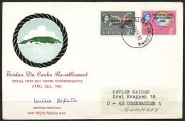 St. Helena    - Mi.Nr.    148 163     Brief - St. Helena