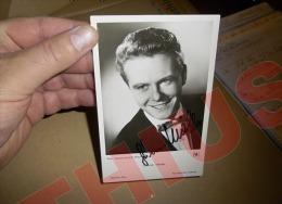 GUNNAR MÔLLER RARE AUTOGRAPHE VERITABLE SUR CARTE PHOTO UFA/FILM 9 X 14 / Moller Autogramm Autograph... - Autographes