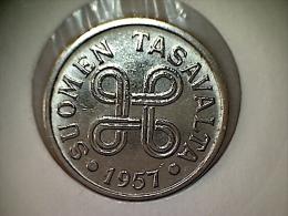 Finlande 5 Markkaa 1957 TTB - Finlande