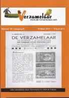 NL.- Tijdschrift - De Verzamelaar Nummerr 3 / Jaargang 61. 15 Maart 2011 - 15 April 2011. - Tijdschriften