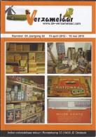 NL.- Tijdschrift - De Verzamelaar Nummerr 4 / Jaargang 62. 15 April 2012 - 15 Mei 2012 - Tijdschriften