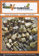 NL.- Tijdschrift - De Verzamelaar Nummerr 5 / Jaargang 62. 15 Mei 2012 - 15 Juni 2012 - Tijdschriften