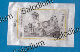 ASSISI Chiesa Di S. SAN FRANCESCO - BUSTINA DI ZUCCHERO VUOTA - Sugar Empty - Sugars