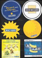 LOT DE 9 SOUS-BOCKS  RICARD - Sous-bocks