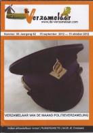 NL.- Tijdschrift - De Verzamelaar Nummerr 8 / Jaargang 62. 15 September 2012 - 15 Oktober 2012 - Tijdschriften