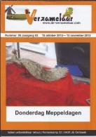 NL.- Tijdschrift - De Verzamelaar Nummerr 9 / Jaargang 62. 15 Oktober 2012 - 15 November 2012 - Tijdschriften