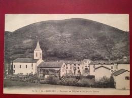 64 ALDUDES Environs De L'Eglise Et Du Jeu De Paume (cpa Unique) - Aldudes