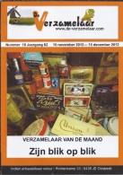 NL.- Tijdschrift - De Verzamelaar Nummerr 10 / Jaargang 62. 15 November 2012 - 15 December 2012 - Tijdschriften