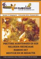 NL.- Tijdschrift - De Verzamelaar Nummerr 11 / Jaargang 62. 15 December 2012 - 15 Januari 2013. Prettige Kerstdagen En - Tijdschriften