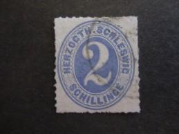 Altdeutschland (Schleswig-Holstein Und Lauenburg) Jahr 1865, 1. Nov., Freimarken: Ziffern Im Oval Jedoch Neue Wertstufen - Schleswig-Holstein