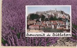 Sisteron 04 -  Panorama Souvenir De Sisteron - Lavande - Sisteron