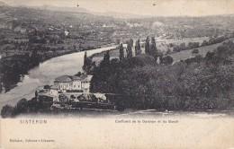 Sisteron 04 -  Confluent De La Durance Et Du Buech - Editeur Vollaire - Sisteron