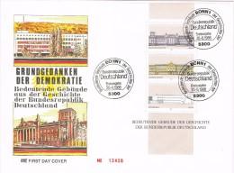 14206. Carta F.D.C. BONN (alemania Federal) 1986,  Edificios Singulares DDR - [7] República Federal