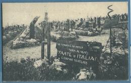 REDIPUGLIA -  CIMITERO MONUMENTOALE - FANTE D'ITALIA -  ANNULLO AUSTRIACO MONFALCONE SU MICHETTI - Gorizia