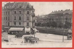 CPA Belfort - Place Corbis - Belfort - Ville