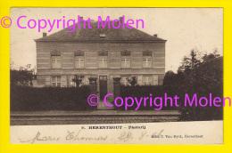 Rare PASTORIJ Te HERENTHOUT * Verzonden In 1906 => Genappe * PRESBYTERE PASTORIE PASTORY CURE 4027 - Herenthout