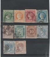 Espagne _ Non Dentelé_  Et Dentelé _lot - 1850-68 Königreich: Isabella II.