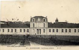 17 MONTENDRE Le Groupe Scolaire - Montendre