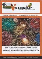 NL.- Tijdschrift - De Verzamelaar Nummerr 1 / Jaargang 63. 15 Januari 2013 - 15 Februari 2013. - Tijdschriften