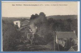 35 - GUICHEN - BOURG Des COMPTES --  La Gare - Le Dépard Du Train De Redon - France