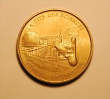 1998 Monnaie De Paris - La Cite Des Sciences  Geode - Argonaute - Monnaie De Paris