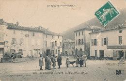 07 // SAINT LAURENT DU PAPE   LA GRAND PLACE   2EME VUE   981   C Artige édit, ANIMEE  ** - Other Municipalities