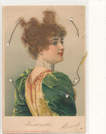FANTAISIE ) FEMME / Cheveux Collés,  A SCHWIDERNOCH  EDIT - Mechanical