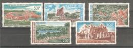 Serie Nº A-56/60  Cote D'ivore - Costa De Marfil (1960-...)