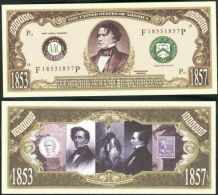 Billet de collection USA P-14 President Pierce Million Dollars Paper Money Collector unc