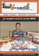 NL.- Tijdschrift - De Verzamelaar Nummerr 2 / Jaargang 63. 15 Februari 2013 - 15 Maart 2013. - Tijdschriften