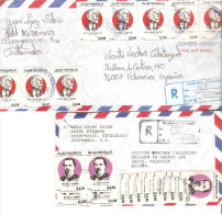 2 Cartas Diferentes De Guatemalaa. - Guatemala
