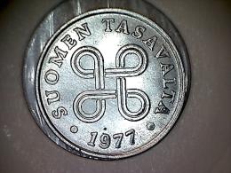 Finlande 1 Penni 1977 - Finlande